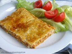 Empanada de Hojaldre con Bonito