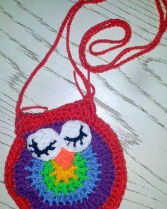 #crochet #owl #purse #bag #crochetbags #crochetgirls