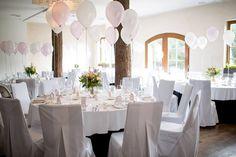 Wedding in HOT_elarnia #wedding #celebration #baloons #decorations #white #hotel #design