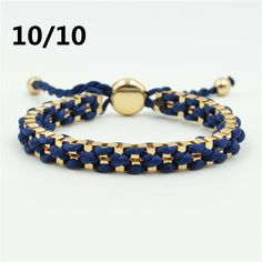 06cf3ade3d75 Newest boho style woven gold chain bracelet friendship bracelet for women  and fashion men Gold Chain
