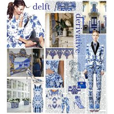 """""""delft derivative"""" by ropearoundyourneck on Polyvore"""