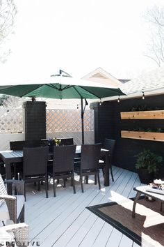 89f5937422 A tired patio gets a modern makeover in this episode of The Weekender. Check  out