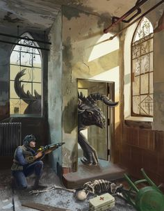 Fallout 4: Hunter and Prey by XGingerWR on DeviantArt