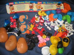 Lot Mr Potato Head Eyes Nose Mouth Teeth Hats Shoes Arms Parts Disney | eBay