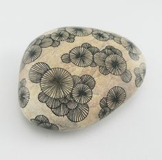 Bohemian patterns on stones - fill in a colorful glass vase for a beautiful centerpiece