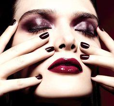 Chanel Rouge Noir Absolument Makeup Collection. Navidad 2015/2016