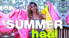 HUGE SUMMER HAUL 2015 | SUMMER VACATION HAUL AND TRY ON | CHINACANDYCOUTURE