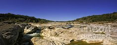 A spectacular day at Pedernales Falls Texas - Joan Carroll. Check out this photo and more at my website at joan-carroll.artistwebsites.com.  All works available as a print, canvas, greeting card, pillow cover, tote bag, shower curtain, or phone case.  Thanks!