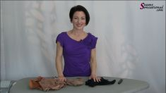 In this instructional video, Teresa Sigmon, founder of Sew Like a Pro™, shows you how to snip a waistband for a smoother look. Beauty Tips, Beauty Hacks, Reduce Bloating, Look Thinner, Tights Outfit, Street Outfit, Ballroom Dance, Looking For Women, Leotards