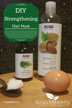 Nourish your hair from root to tip with this DIY strengthening hair mask. Pamper yourself and make your hair look uh-mazing. You likely already have the ingredients.