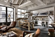 Vintage and industrial style kitchens by Marchi Group - Adorable Home