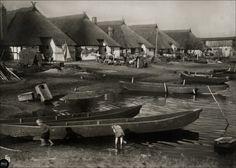 Alte Fischerhaeuser Kamp in Pommern
