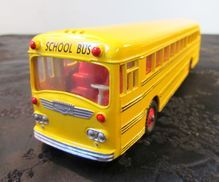 Dinky Toy Wayne School Bus Yellow/Signs/Finished Interior