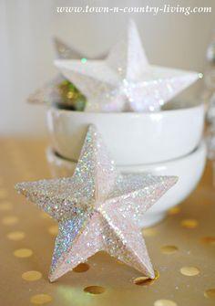 DIY Paper Mache Stars Tutorial