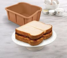 Cakewich Cake Mold Lets You Make Sandwich Shaped Cakes