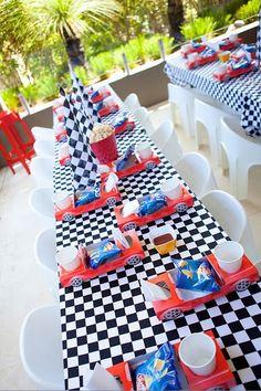 Race Car Party – Car food trays