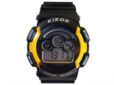 Relógio Masculino Kikos RK01 - Digital Resistente à Água