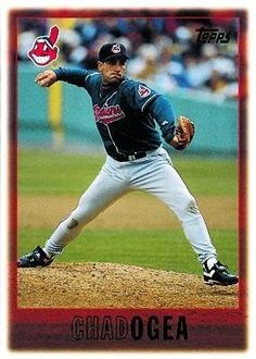 1997 Topps #367 Chad Ogea - Cleveland Indians (Baseball Cards) by Topps. $0.88. 1997 Topps #367 Chad Ogea - Cleveland Indians (Baseball Cards)