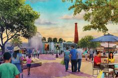 New Disney Springs Concept Art Released, Restaurant Opening Dates Updated