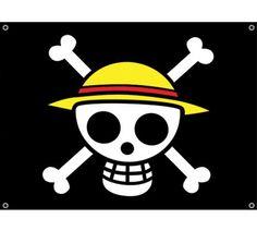 Anime one piece luffy chapeau de paille bannièreéquipements corsair drapeau, pirates