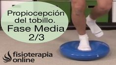 Ejercicios propioceptivos de TOBILLO. Nivel intermedio.