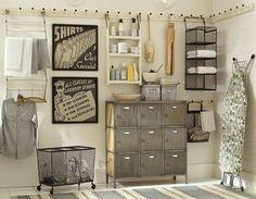 Laundry rooms organization