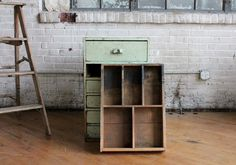 Industrial Scovill Green Set of Drawers, Number Two - on Etsy