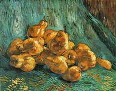 Still Life with Quince Pears. 1888. Oil on canvas.