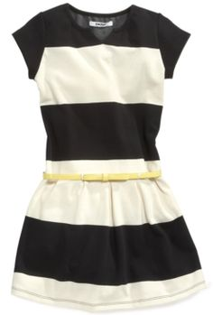 #DKNY                     #kids                     #DKNY #Girls #Dress, #Girls #Bold #Stripe #Ponte #Dress                       DKNY Girls Dress, Girls Bold Stripe Ponte Dress                               http://www.snaproduct.com/product.aspx?PID=5504994