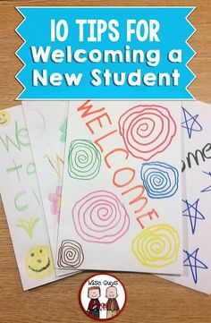 A new student in the middle of a term can be hard on everyone, especially that student! Here's our top 10 tips for welcoming a new student and starting them off on the right foot. These ideas and tips can be adapted to work in any elementary classroom - p