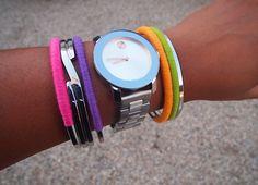 Glitter N Glue DIY Colorful Thread Wrap Bracelets