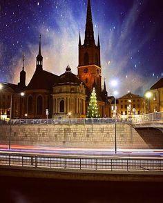 Riddarholmskyrkan beautifully captured by @basilifabrizio