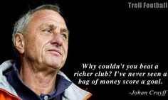 The Johan Cruyff quote which inspired Leicester City Football Club HERTHA BSC and other small clubs who are doing great the most.