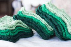 crochet coasters for Christmas 2013