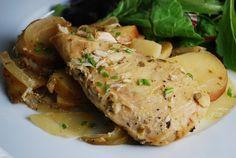 Dijon Chicken Slow Cooker Recipe