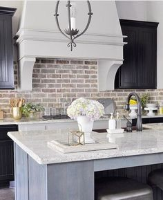 Love the brick and marble so much!