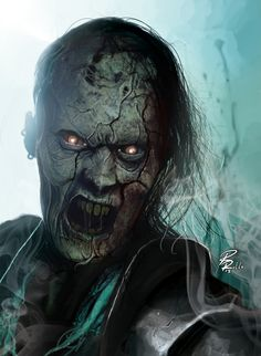 Zombie Knight by shiprock.deviantart.com on @DeviantArt