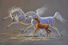 Art - Marian Duncan - Equine Artist, Australia  +61 2 6364 5077 mariand@nsw.chariot.net.au