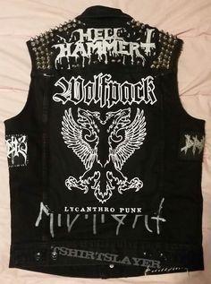 Metal Punk Vest