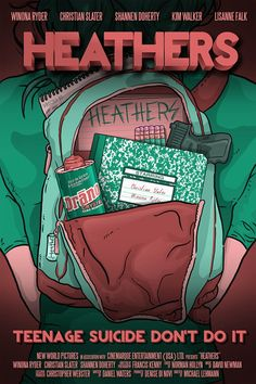 Heathers Movie Poster by thenewmessiah on Etsy, $9.50