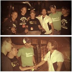 Eddie / Mike McCready / Steve Gleason and the TEAM!