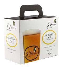 St Peters Golden Ale 3.0kg  36 pt  kit homebrew by TheHomeBrewShop