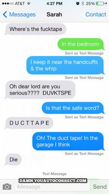 The Web Babbler: Funny Texts #107