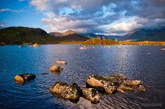 Morning at Lochan na H'Achlaise on Rannoch Moor, Scotland by Manchester Photographer Darby Sawchuk - dsphotographic.com