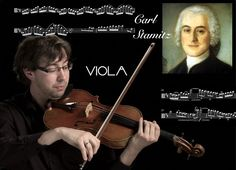 Carl Stamitz, Concerto for Viola in D major, op. 1(1774)