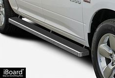 "iBoard Running Boards 4"" Custom Fit 2009-2017 Ram 1500 Crew Cab Pickup 4Dr & 2010-2017 Ram 2500/3500 (Nerf Bars 