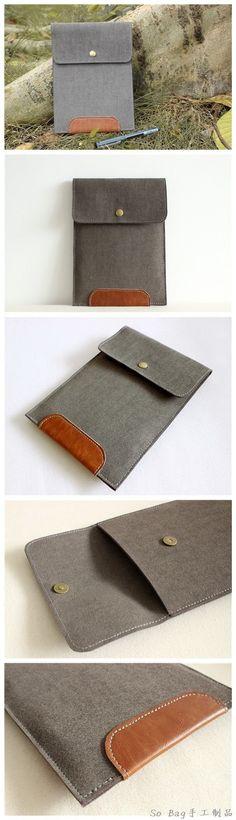 Handmade sleeve envelope style for