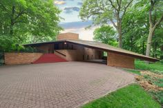 This rare Frank Lloyd Wright house in St. Louis Park – just one of a dozen Wright houses currently on the market nationwide - is on the market for $1.495 million.