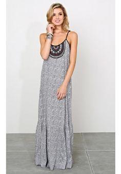 ANGIE Timeless Boho Maxi Dress