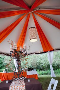 Tent at Magnolia Plantation | Designed by Engaging Events | Charleston SC Wedding